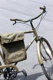 Zielony bicykl obrazy stock