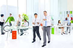 Zielony Biznesowego biura Korporacyjny pojęcie obraz royalty free