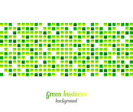 Zielony biznesowy abstrakcjonistyczny tło Obrazy Stock