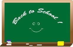 zielony blackboard tekst fotografia stock