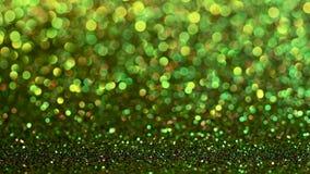 Zielony bożych narodzeń lub nowego roku tło zbiory wideo