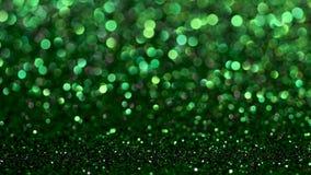 Zielony bożych narodzeń lub nowego roku tło zdjęcie wideo