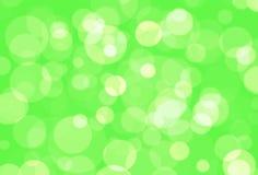 Zielony Bokeh Obraz Stock