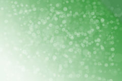 Zielony bokeh tło Zdjęcia Stock