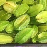 Zielony Carambola Fotografia Stock