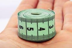 Zielony centymetr fotografia stock