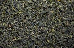 Zielony Chiński herbaciany tło nikt zdjęcia stock