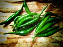 zielony chili obrazy royalty free