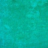 Zielony ścienny stiuk Obraz Stock