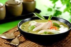 Zielony curry Zdjęcie Stock