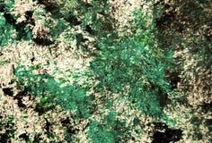 Zielony czarny ciemny srebrzysty biały błękitny zamazany obraz akwareli tło, abstrakcjonistyczny obraz akwareli tło zdjęcia royalty free