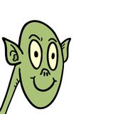Zielony demon Obraz Stock