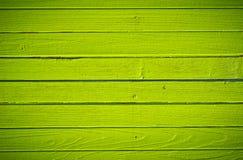 Zielony drewno Zdjęcia Stock