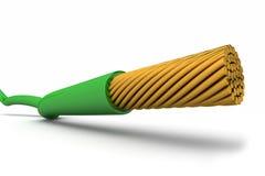 zielony drut Obraz Stock