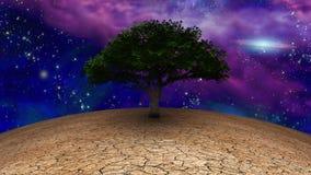 Zielony drzewo ?ycie royalty ilustracja
