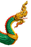 Zielony duży wąż Obraz Royalty Free