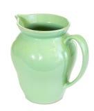 zielony dzbanek zdjęcie stock