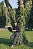 zielony działanie Fotografia Royalty Free