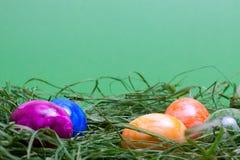 Zielony Easter tło Obrazy Stock