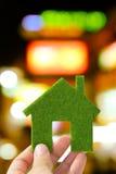 zielony eco dom Zdjęcia Stock