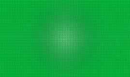 Zielony ekran gulgoczący tło Zdjęcie Stock