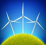 Zielony energetyczny pojęcie Obraz Royalty Free