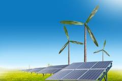Zielony energetyczny pojęcie Obraz Stock