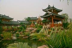 Zielony expo ogród w Zhengzhou fotografia royalty free