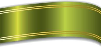 zielony faborek Zdjęcie Royalty Free