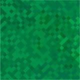 Zielony geometryczny abstrakcjonistyczny tło Obrazy Royalty Free