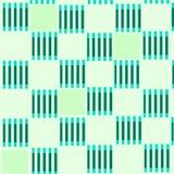 Zielony geometryczny wzór Zdjęcie Stock