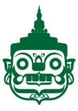 Zielony Gigant Obrazy Royalty Free