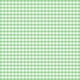 zielony gingham pastelowy bezszwowy Zdjęcie Stock