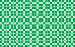 Zielony gingham wzór Tekstura od rhombus dla szkockiej kraty, tablecloths, koszula, sukni, papieru, pościeli, koc, kołderek i inn zdjęcie royalty free