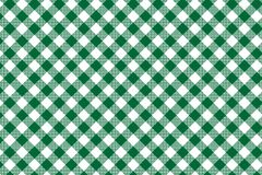 Zielony gingham wz?r Tekstura od rhombus, kwadrat?w dla/- szkocka krata, tablecloths, odziewa, koszula, suknie, papier, po?ciel,  royalty ilustracja