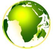 zielony globu życia Zdjęcie Stock