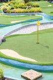 Zielony golfa sąd e Obraz Royalty Free