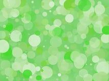 Zielony gradientowy tło z bokeh skutkiem Abstrakt Zamazujący wzór Lekka tło wektoru ilustracja Fotografia Stock