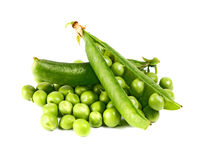 zielony groch Fotografia Stock