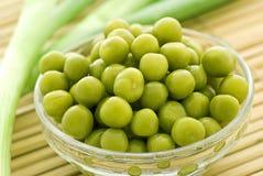 zielony groch s Obrazy Stock