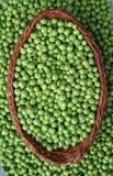 zielony groszek Fotografia Stock