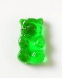 Zielony Gumowaty niedźwiedź obrazy stock