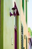 Zielony i Żółty Fascades, malajczyk ćwiartka, Kapsztad, Południowy Afric Zdjęcie Royalty Free