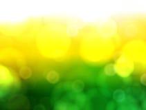 Zielony i Żółty tło Zdjęcie Royalty Free