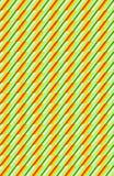 Zielony i pomarańczowy diagonalny dynamiczny wzór fotografia royalty free