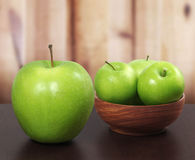 Zielony jabłko Fotografia Royalty Free