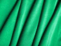 Zielony jedwab Obrazy Stock