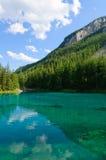 Zielony jezioro w Bruck dera Mur, Austria (Grüner widzii) Obraz Stock