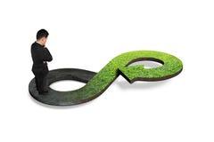 Zielony kółkowy gospodarki pojęcie Obraz Stock