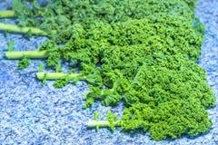zielony kale Obrazy Stock